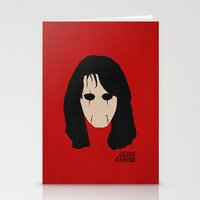 Rock Legends - Alice Coo… Stationery Cards