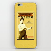 Ron Swanson  |  Steak Ho… iPhone & iPod Skin