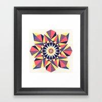 Simetree Framed Art Print