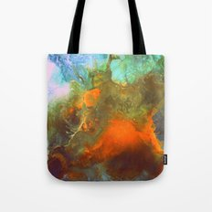 Fluid abstract art Tote Bag