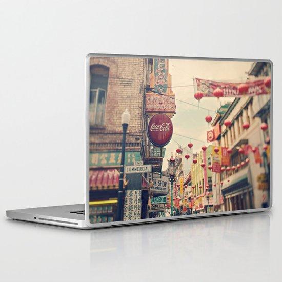 Chinatown (San Francisco) Laptop & iPad Skin