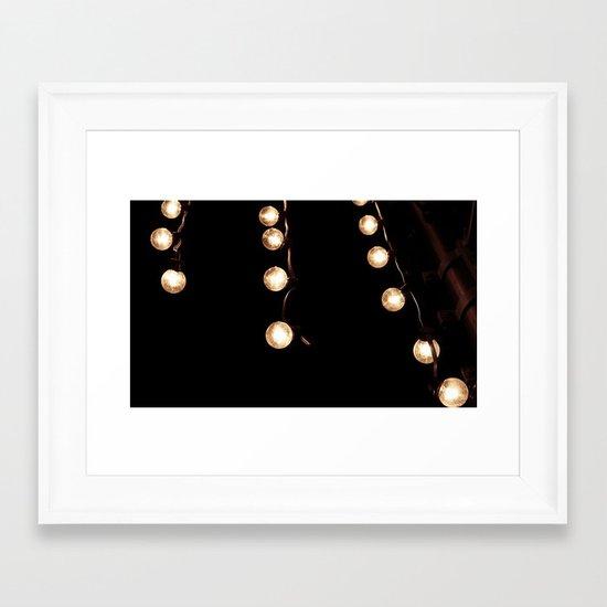Vintage Light Framed Art Print