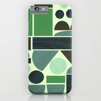 iPhone & iPod Case featuring Town Hall (Green) by Jasmine Sierra