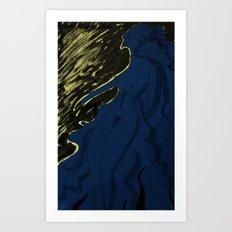 Nótt Art Print