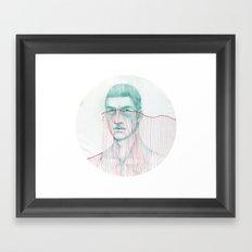 Misfit Circuit 2 Framed Art Print