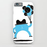 iPhone & iPod Case featuring Blue-Boy Balloon by Denis Carrier