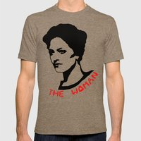 Irene Adler Mens Fitted Tee Tri-Coffee SMALL