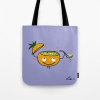 Pineapple Curry Tote Bag