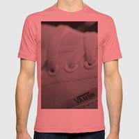 Vans Mens Fitted Tee Pomegranate SMALL