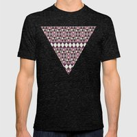 EARTH SPIRIT TRIBAL II  Mens Fitted Tee Tri-Black SMALL