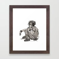 Downtime Framed Art Print