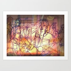Ukvumi Art Print