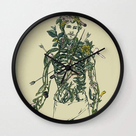 Wound Man Wall Clock