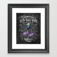 Wisdom of Finn Framed Art Print