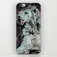 Lion In Vienna iPhone & iPod Skin