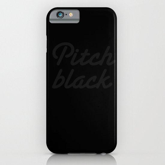 Pitch Black iPhone & iPod Case