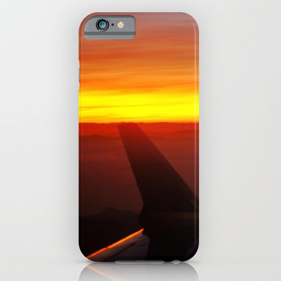 Sunset at 30,000 Feet iPhone & iPod Case