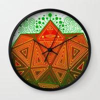 Yello Warrior Wall Clock