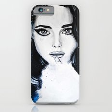 Miss M. in Blue  iPhone 6 Slim Case