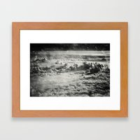 Somewhere Over The Clouds (IV Framed Art Print