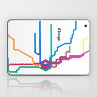 Chicago Subway Laptop & iPad Skin