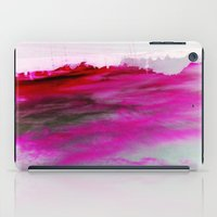 Purple Clouds Red Mountain iPad Case