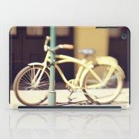 Yellow New Orleans Bicyc… iPad Case