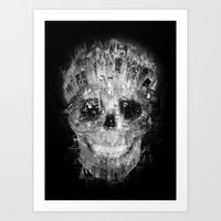 cityskull Art Print