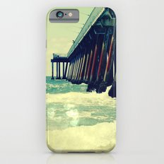 Hermosa Beach Pier Heart Bokeh iPhone 6 Slim Case