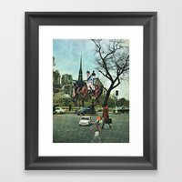 Paris, 1969 Framed Art Print