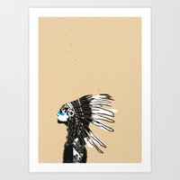NATIVES Art Print
