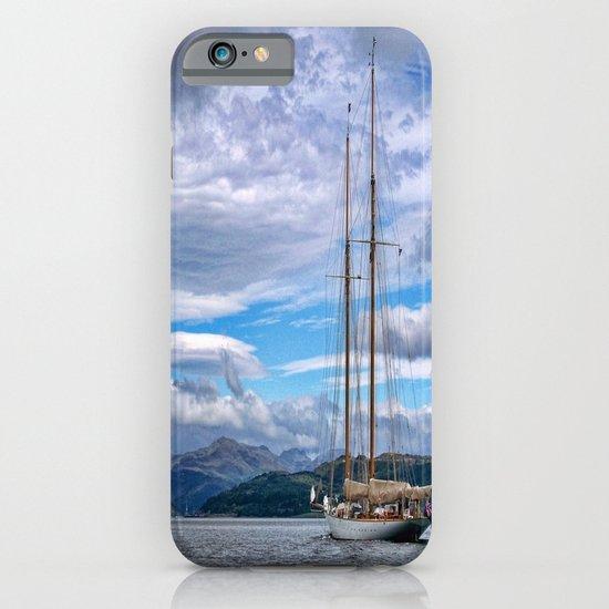 Schooner on the River Clyde iPhone & iPod Case