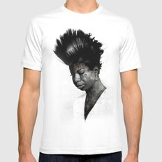 NINA'S NOT DEAD SMALL White Mens Fitted Tee