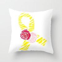 Endometriosis Awareness … Throw Pillow