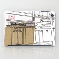 Cafe Roma. iPad Case