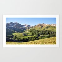 Alpine Summer Art Print