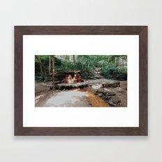 springs in ohio Framed Art Print