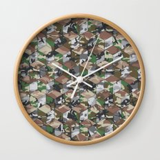 CUBOUFLAGE MULTI (LARGE) Wall Clock