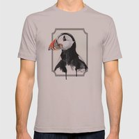 Puffin Mens Fitted Tee Cinder SMALL