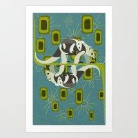 Tamanduas Art Print