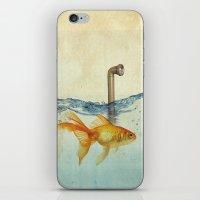 periscope goldfish iPhone & iPod Skin
