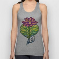 Lotus in Love Unisex Tank Top