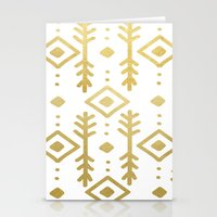 GOLD NORDIC Stationery Cards