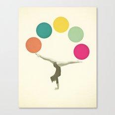 Gymnastics II Canvas Print
