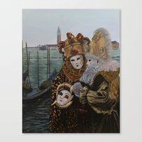 Venice Carnival Canvas Print