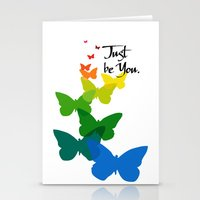 Just be you Stationery Cards