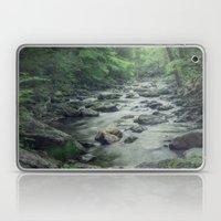 Misty Forest Stream Laptop & iPad Skin