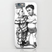 iPhone & iPod Case featuring Clown Buddies by Red Lady Locks