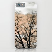 iPhone & iPod Case featuring Peach Silhouette by Suzanne Kurilla