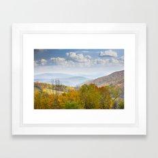 Catskill Mountains Framed Art Print